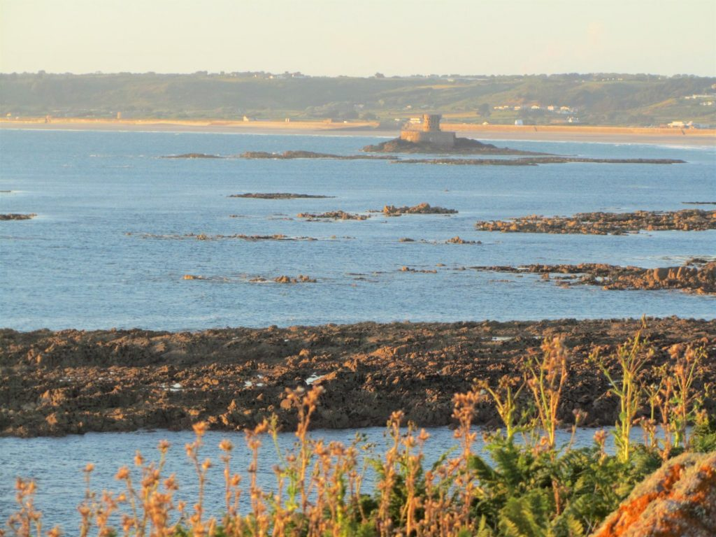Another view across St Ouen's Bay