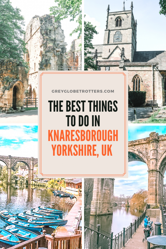 Planning a trip to Northern England? Don't miss the chance to add the quaint historic town of Knaresborough to your itinerary! There's plenty to see and due from a ruined castle to a Victorian viaduct, river promenade and plenty of historic buildings.