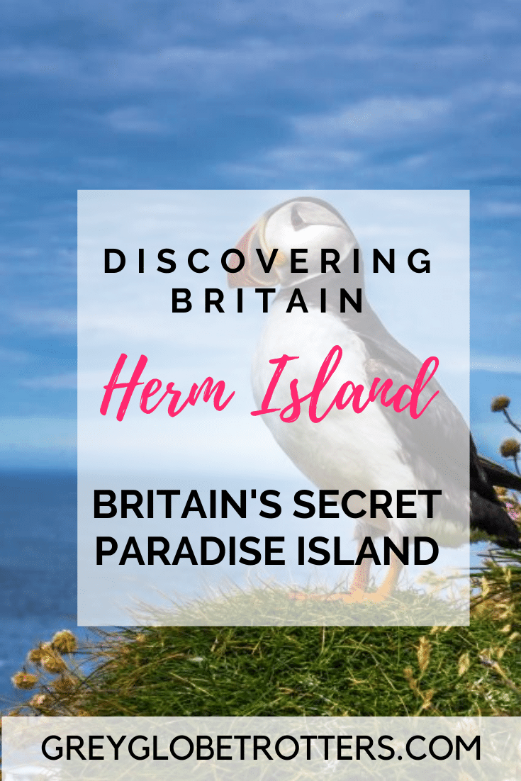 Discovering Herm Island