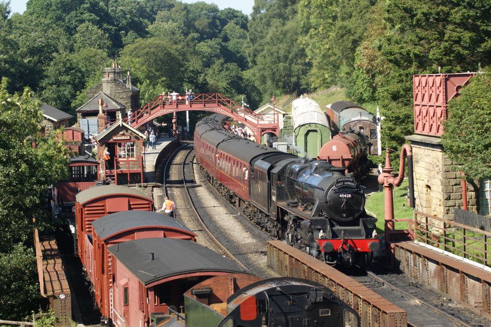 Goathland Station North York Moors Railway min