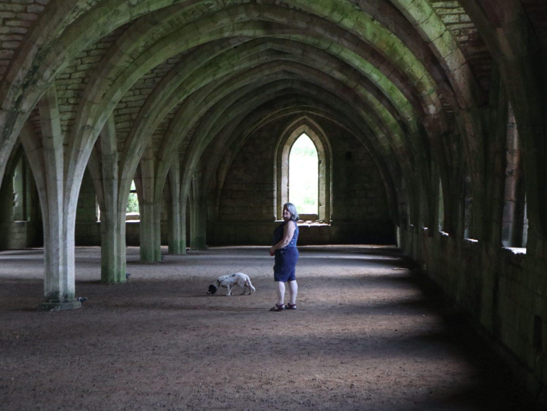 dog friendly Fountains Abbey