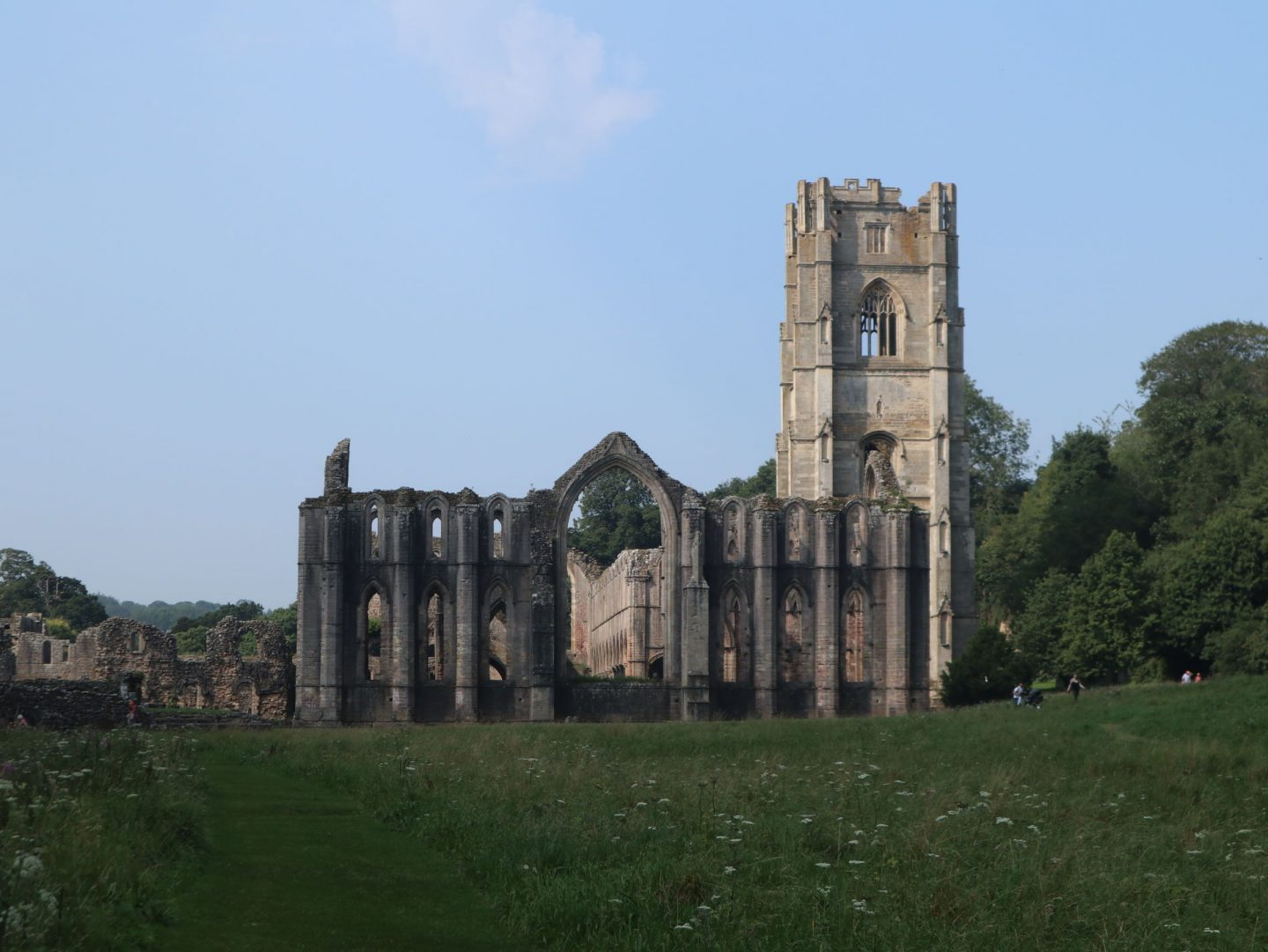 Fountains Abbey View from Studley Royal