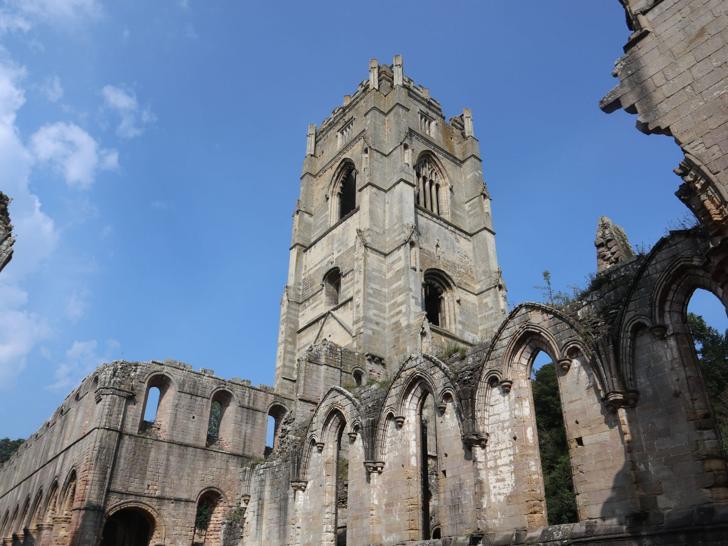 Hubys Tower Fountains Abbey
