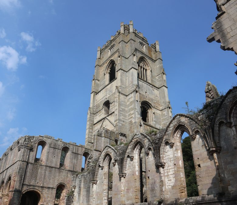 See Huby's Tower when visiting Fountains Abbey