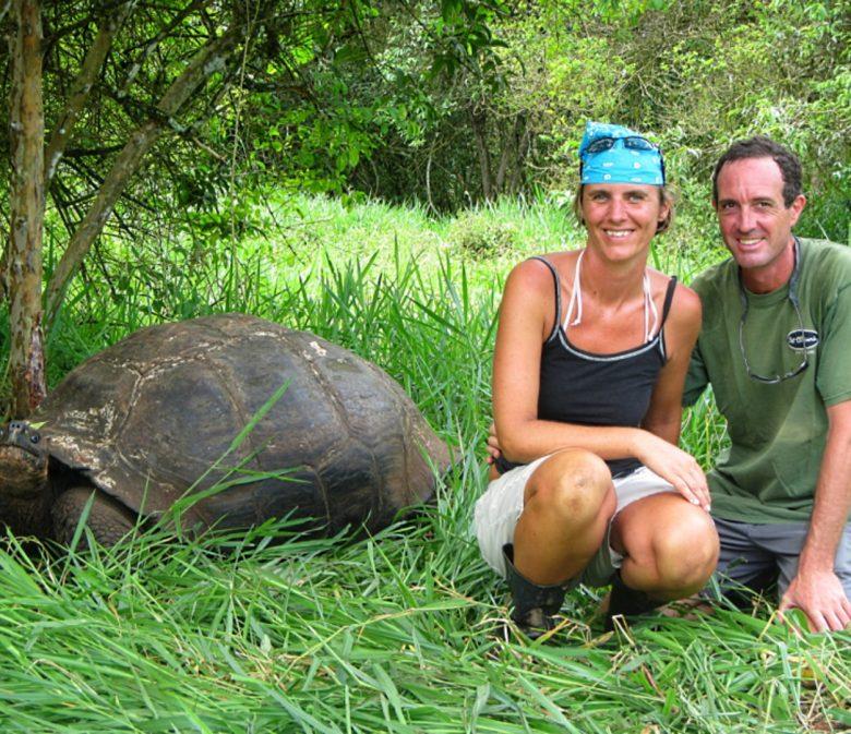 Liesbet & Mark, Galapagos Islands, Ecuador-