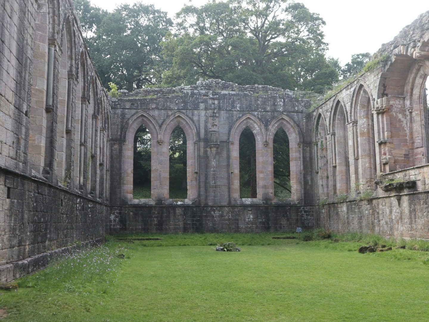 the refectory - a great place to see when visiting fountains abbey