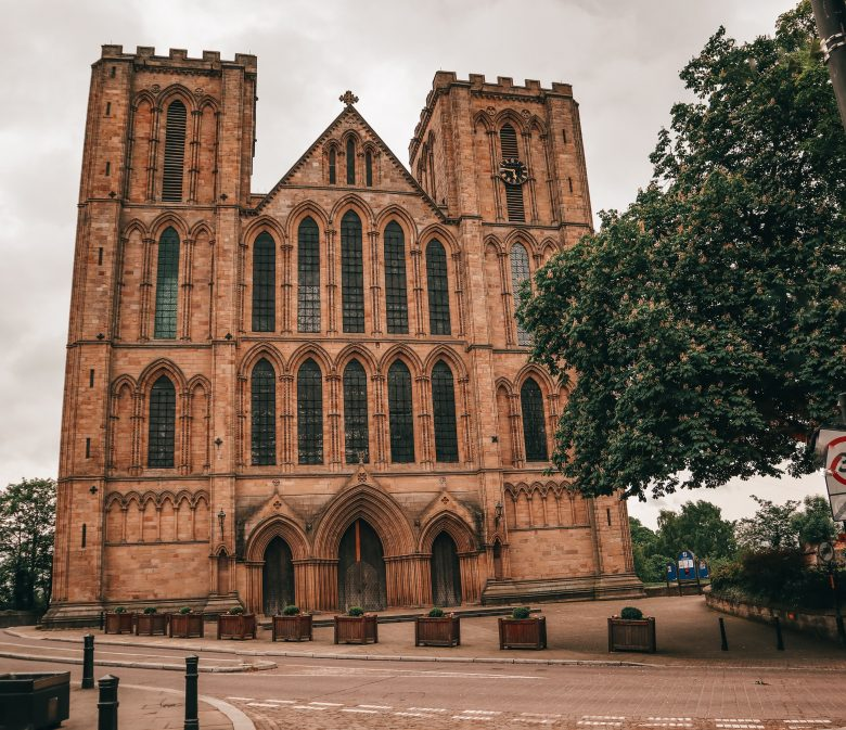 Ripon Cathedral from the Front