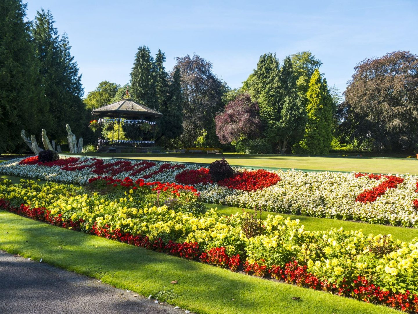 Ripon Spa Gardens - the perfect place to wander and relax in Ripon, Yorkshire