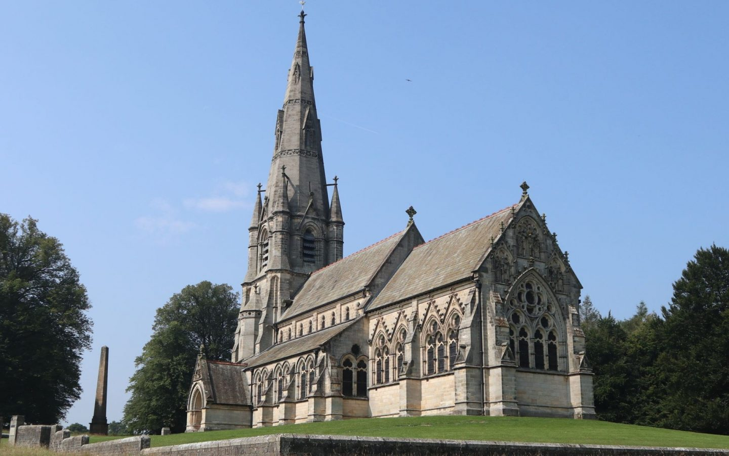 St Mary's church, Studley Royal, Yorkshire