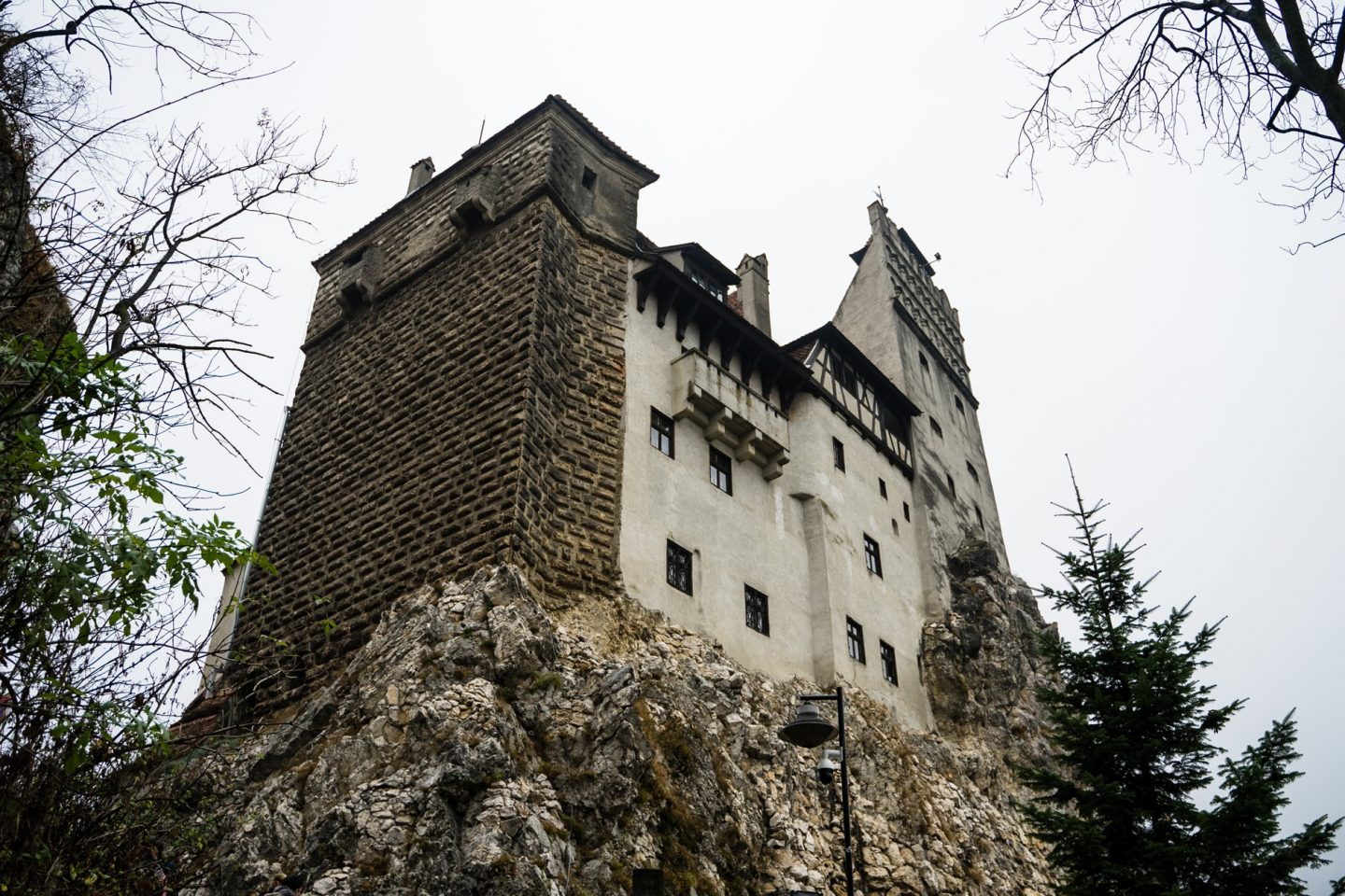 Bran Castle in Transylvania has to be one of the spookiest places in Europe