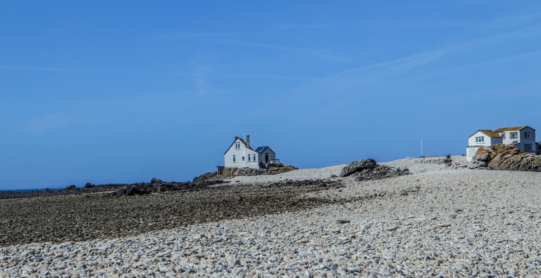 Low tide at Les Ecrehous