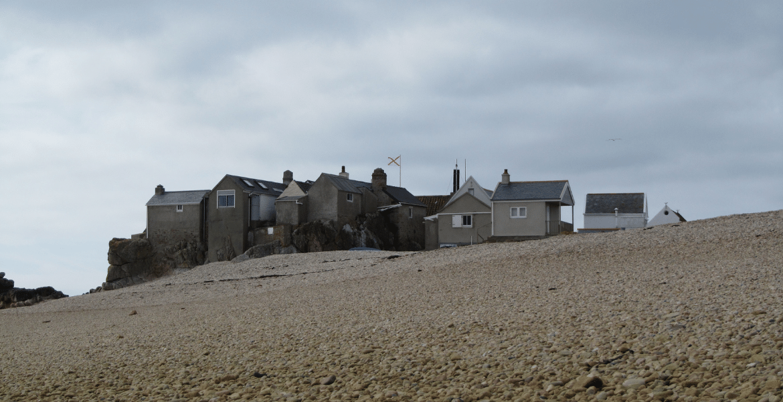 Huts on Les Ecrehous