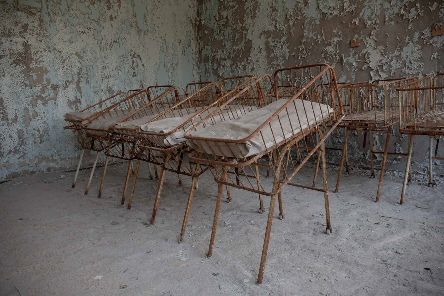 Ghostly Pripyat - frozen in time