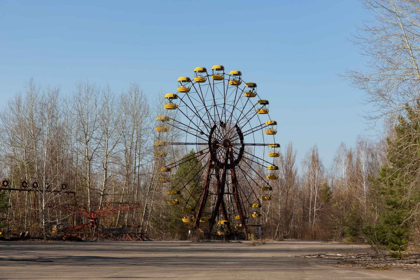 Pripyat Ukraine- one of the spookiest places in Europe