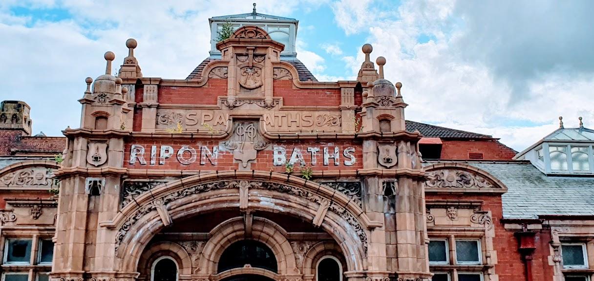 Art-Nouveau Ripon Spa Baths