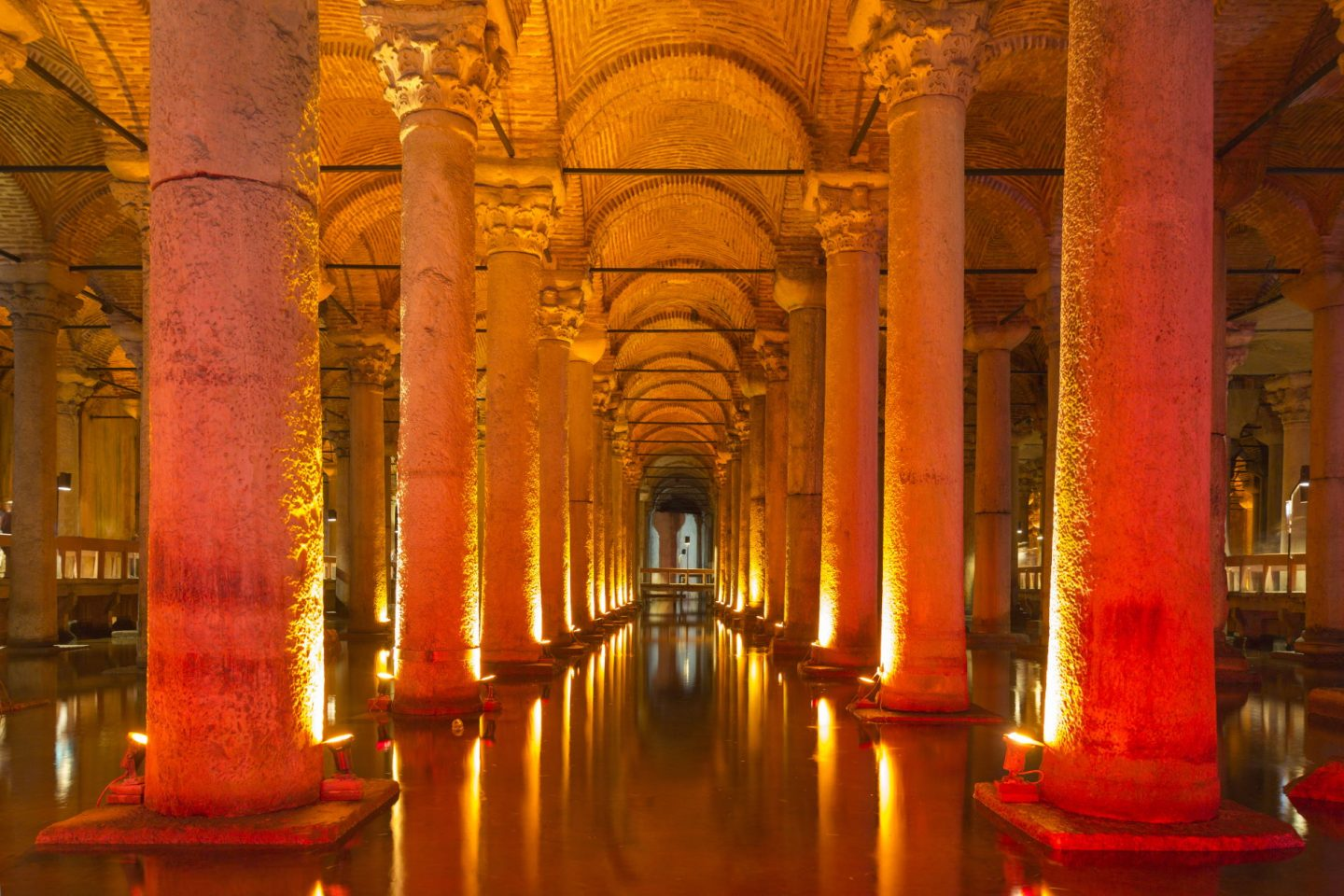 The Basilica Cistern, Istanbul is one of the spookiest places in Europe
