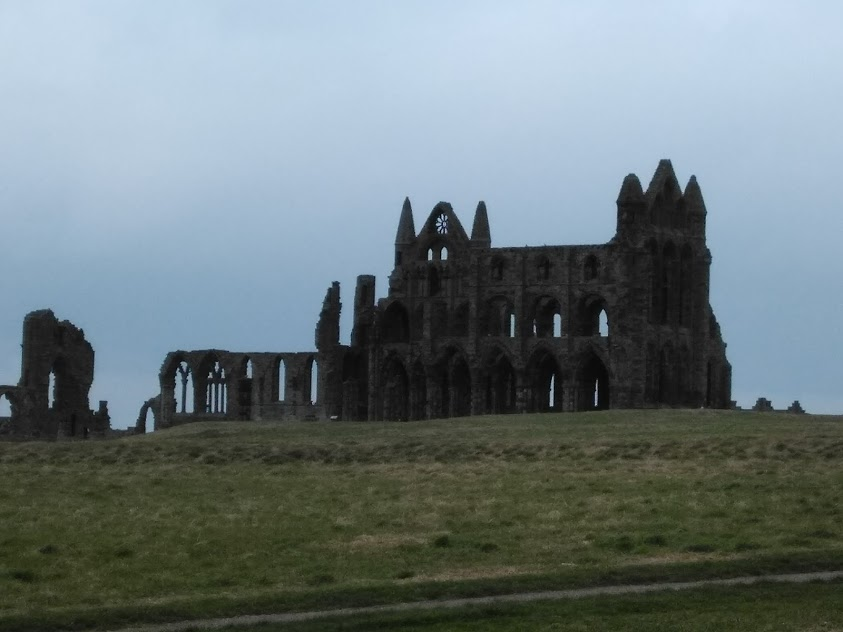 Whitby Abbey, North Yorkshire - the spooky inspiration for Bram Stoker