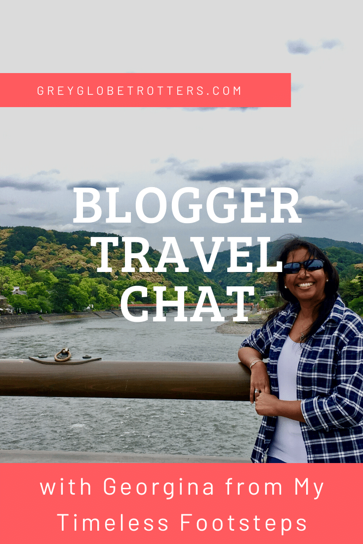 Blogger Travel Chat with Georgina from My Timeless Footsteps