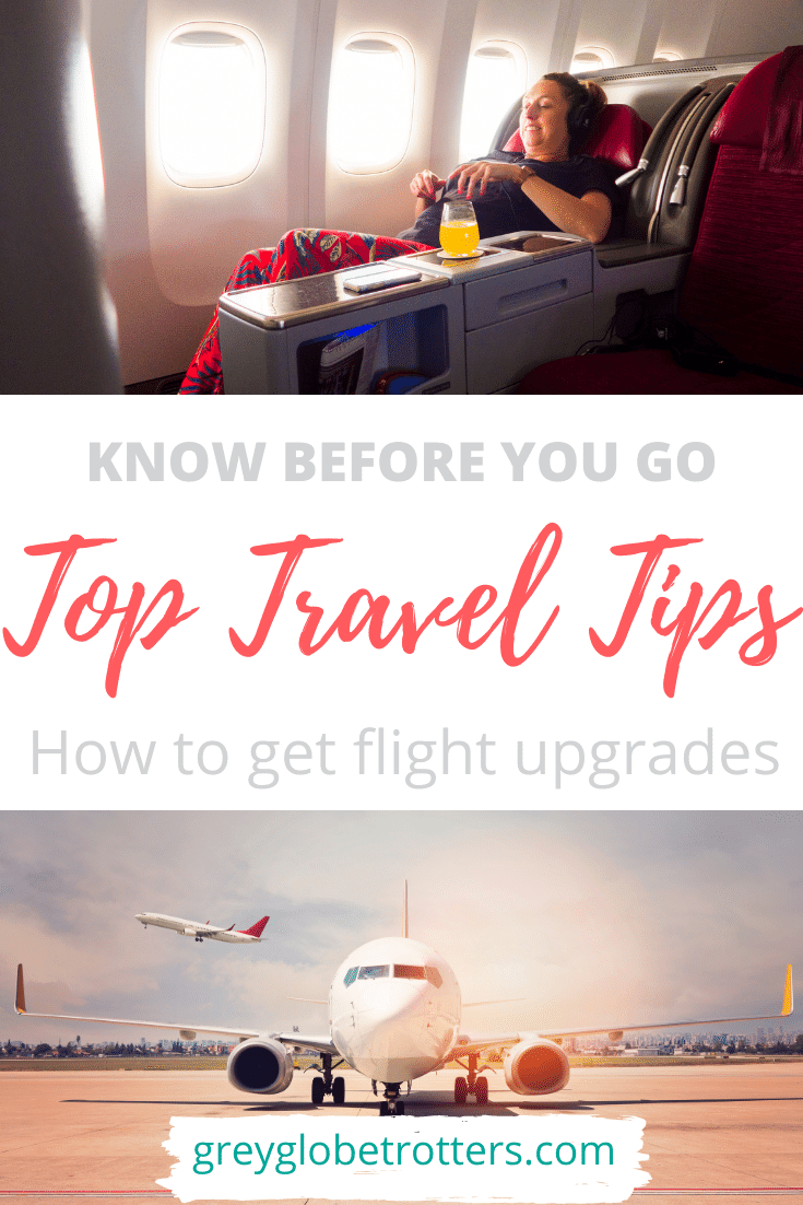 How to get flight upgrades