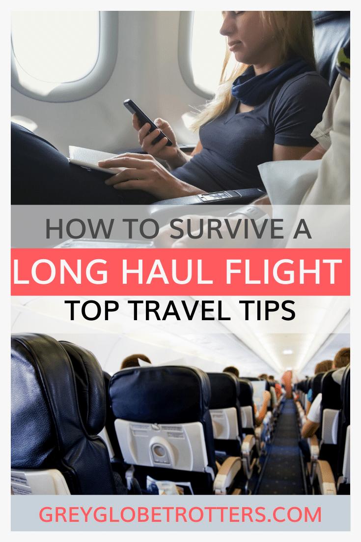 How to survive a long haul flight min