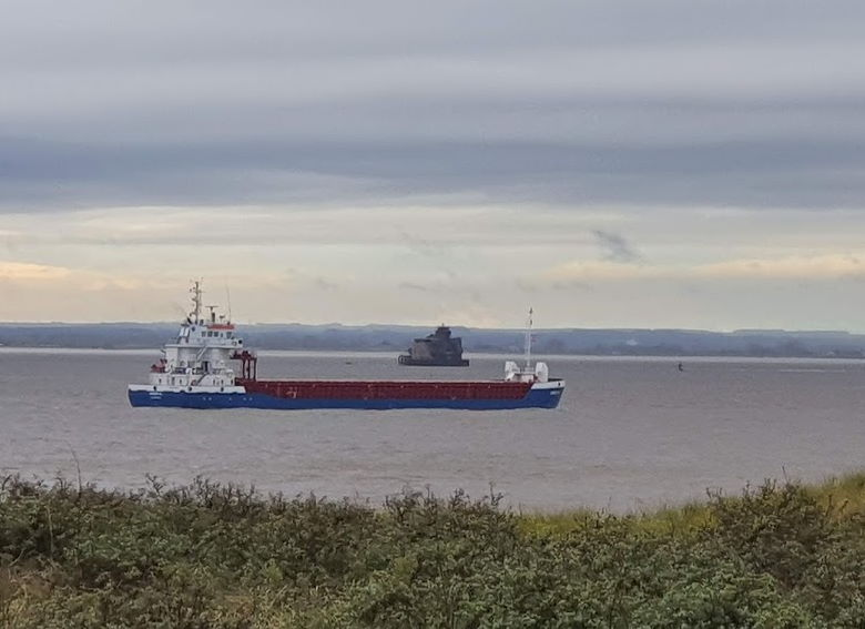 One of the Humber Forts viewed from Spurn Point