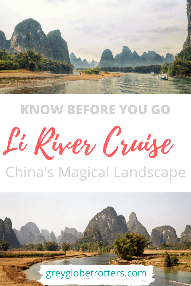 Planning to go on a River Cruise in Guilin? All you need to know before you go China Li River Cruise