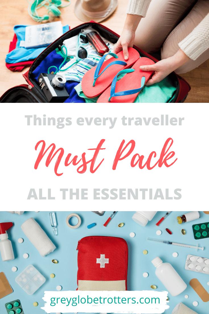 Must pack essentials min