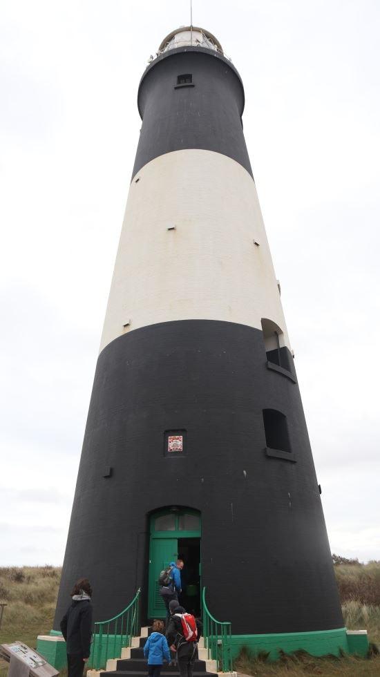 Spurn Lighthouse, Yorkshire, UK