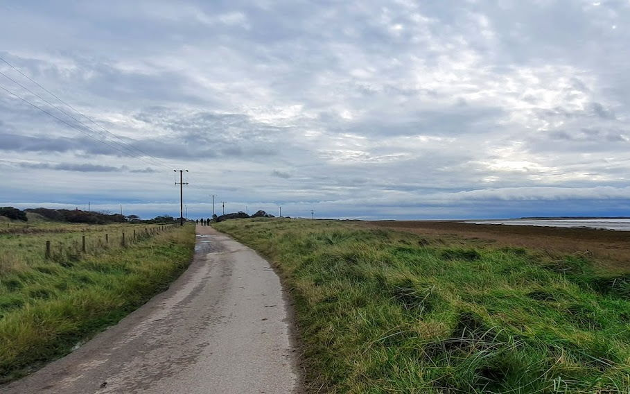 The path to Spurn Point