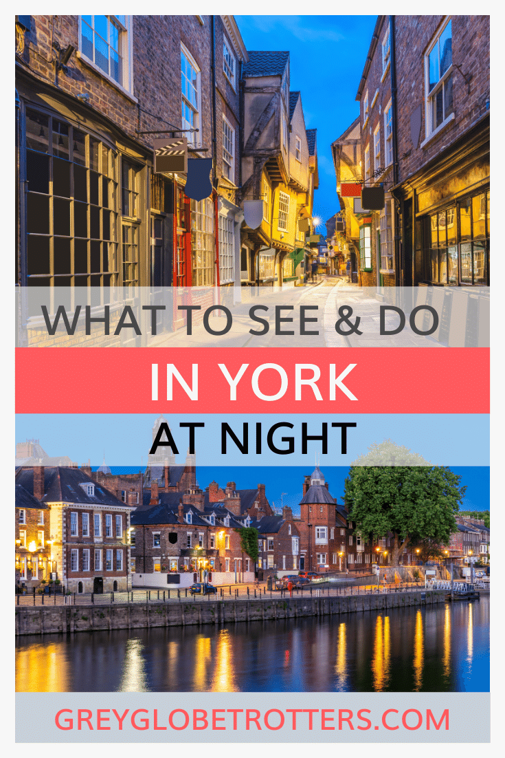 Best things to do in York at night