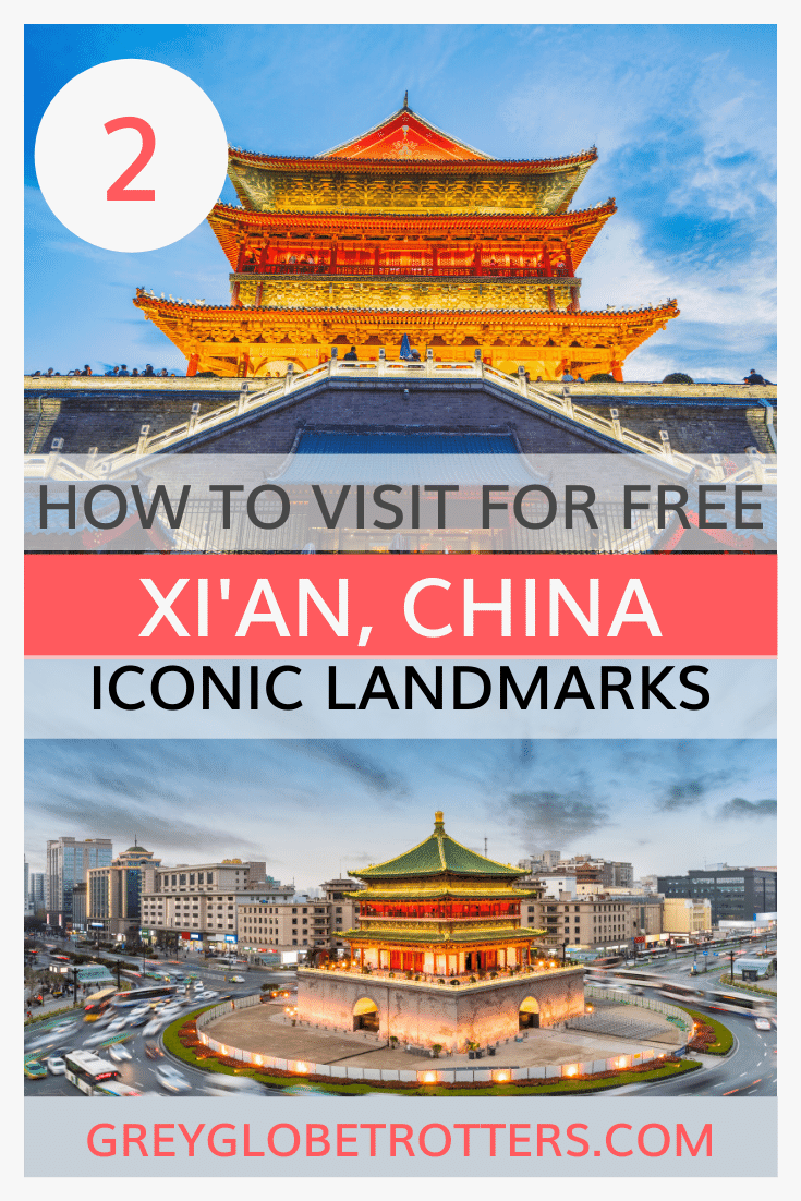 Iconic Xian landmarks to visit for free