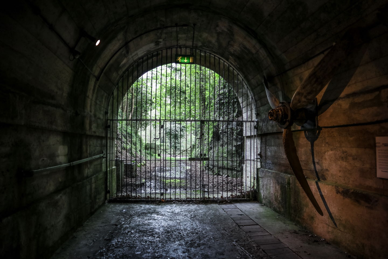 Air turbine Jersey War Tunnels