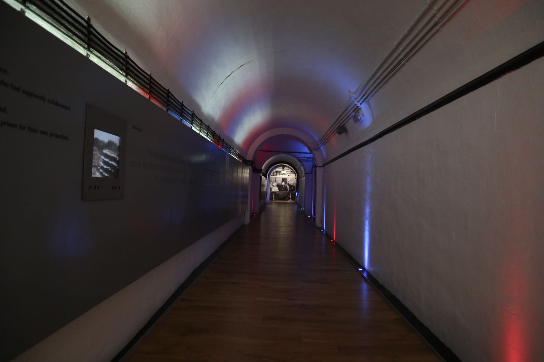 Inside Jersey War Tunnels