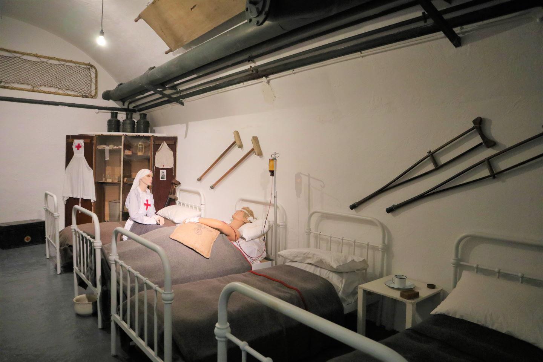Jersey War Tunnels Hospital Ward