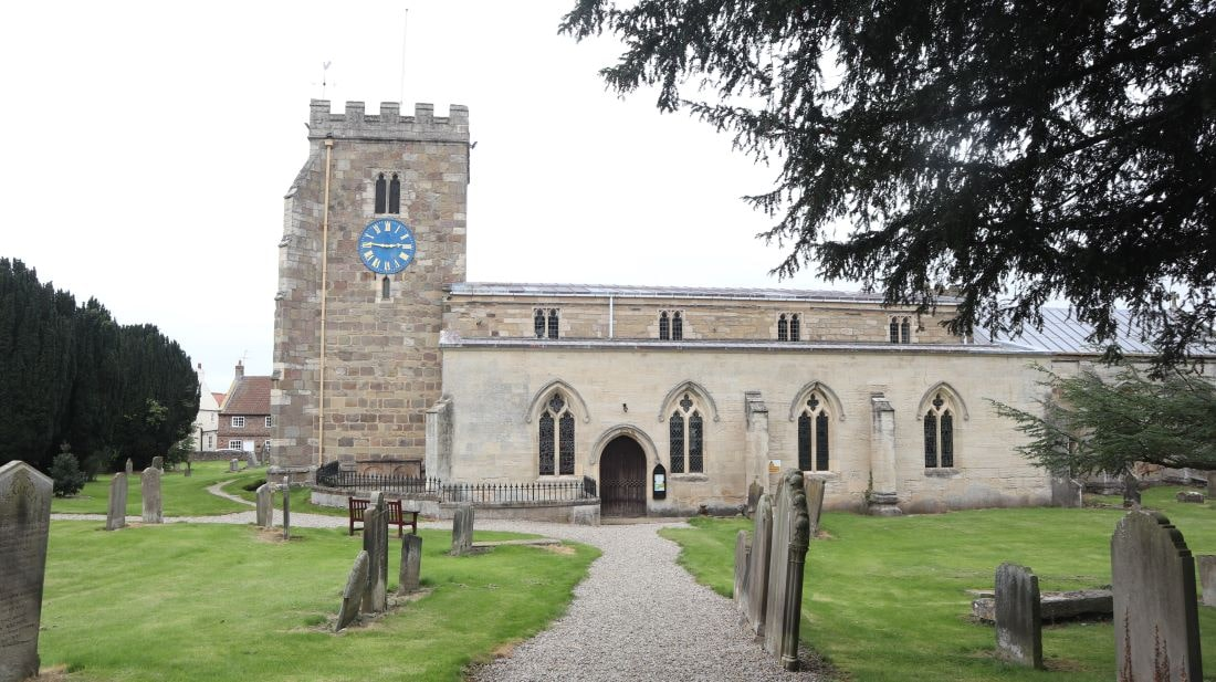 St Andrew's Church Aldborough is one of the places to visit on a Day Trip From York