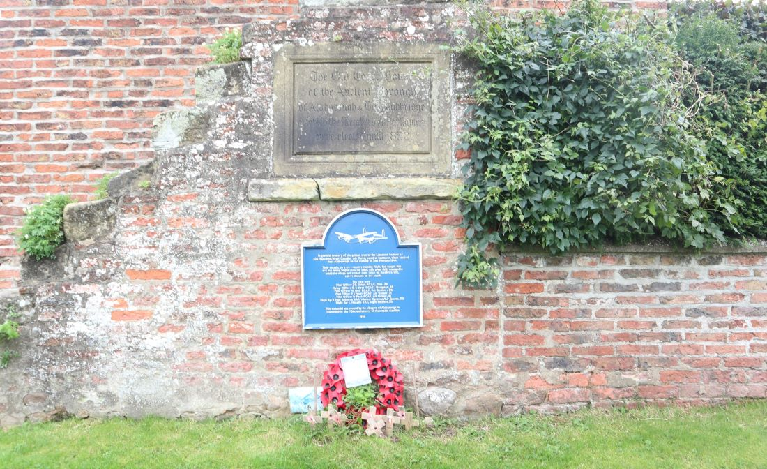Bomber Memorial Aldborough Yorkshire
