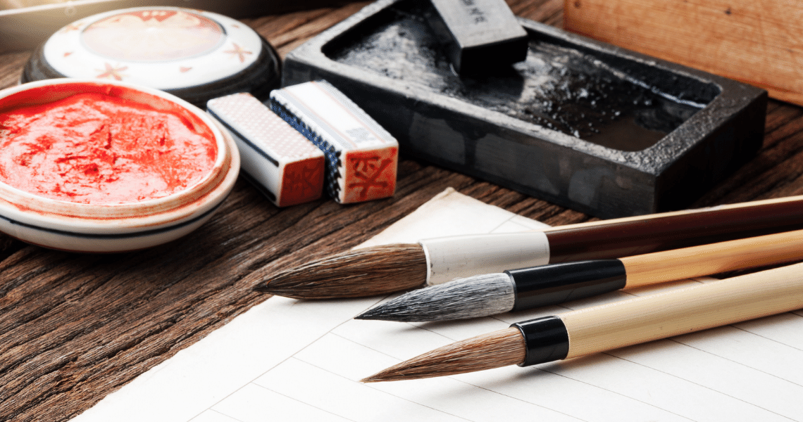 Chinese Chop for Chinese Brush Painting