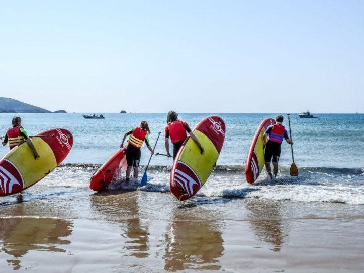 Paddleboarding St Brelades Bay Jersey min3