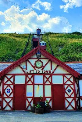 saltburn Cliff lift