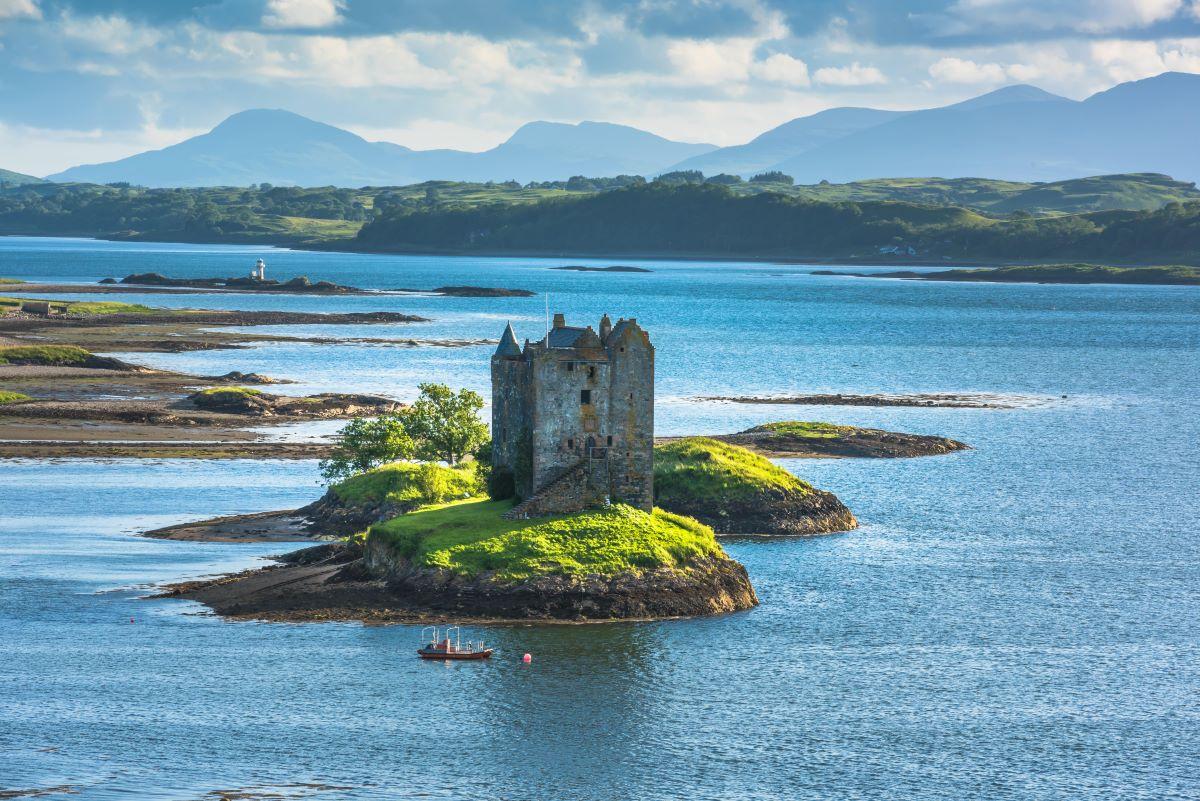 Castle Stalker Appin Scotland