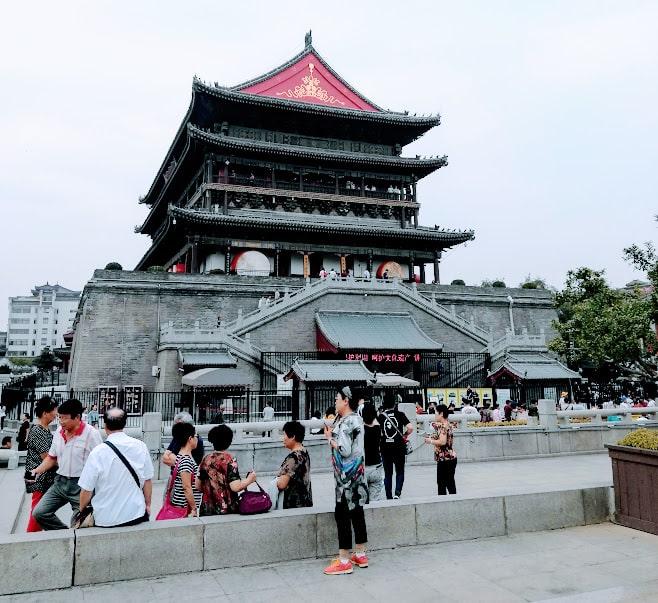 Drum Tower Approach Xian China min