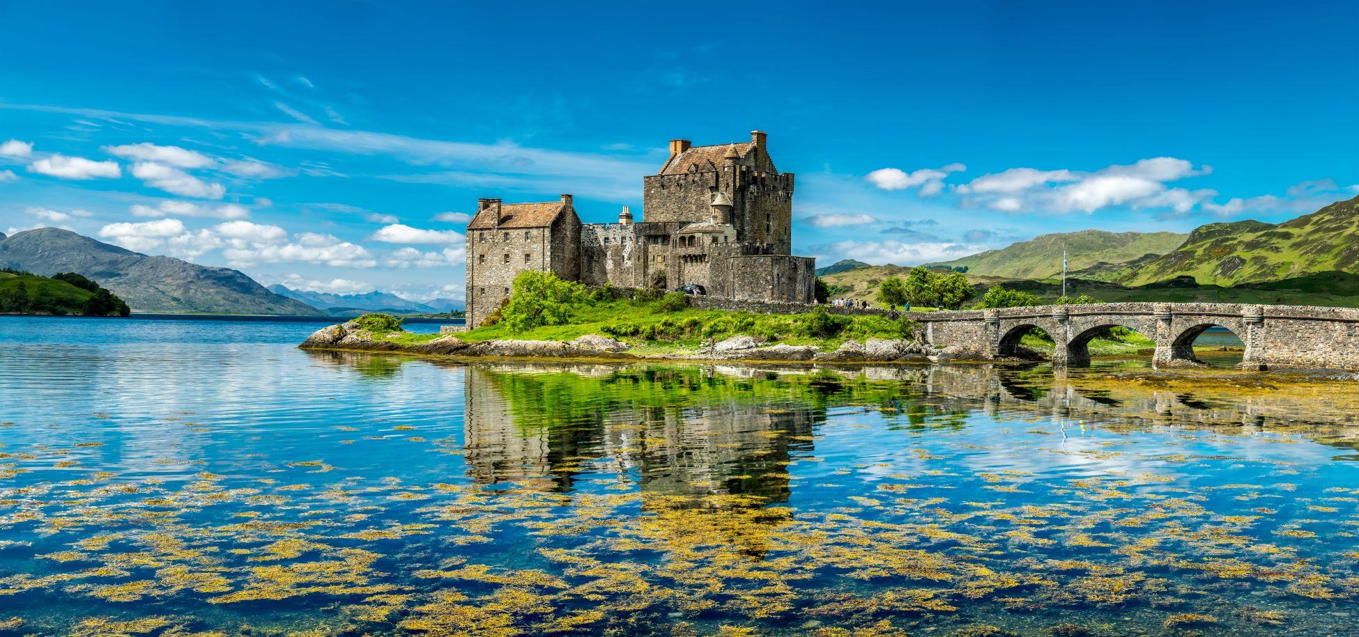 Eilean Donan Castle, Scotland - one of Britain's best island churches