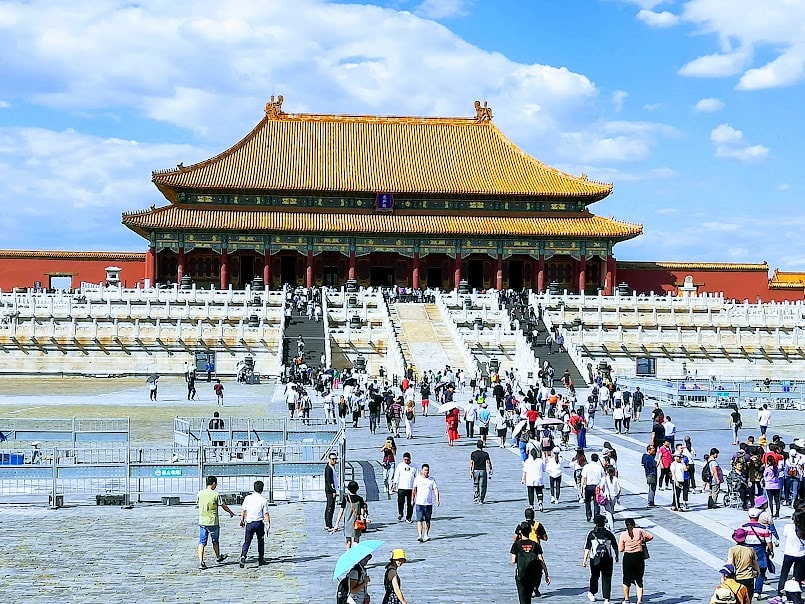 Forbidden City not overcrowded min