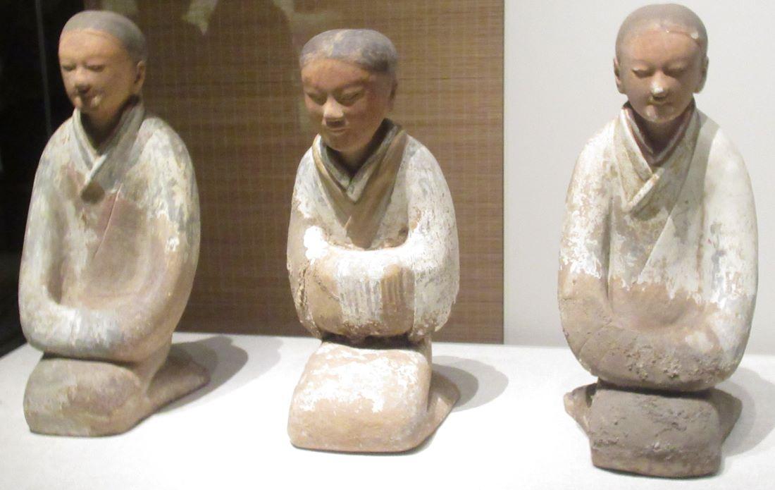 Glazed Figures Shaanxi History Musum China min