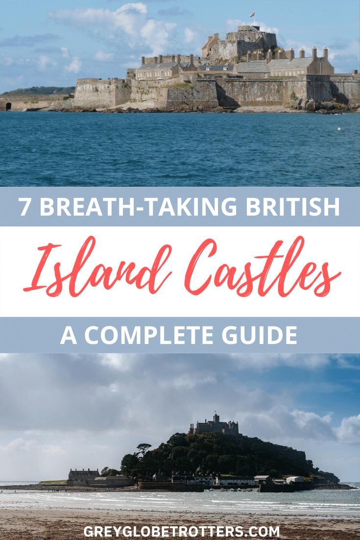 Breath-taking island castles around Britain