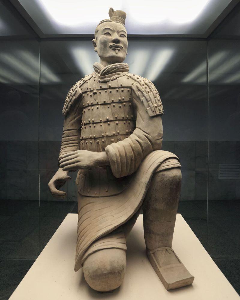Kneeling Archer Shaanxi Museum