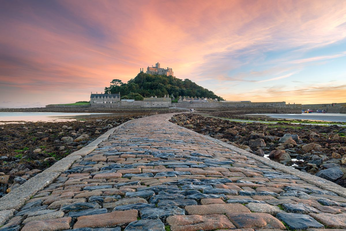 St Michael's Mount - one of Britain's best island churches
