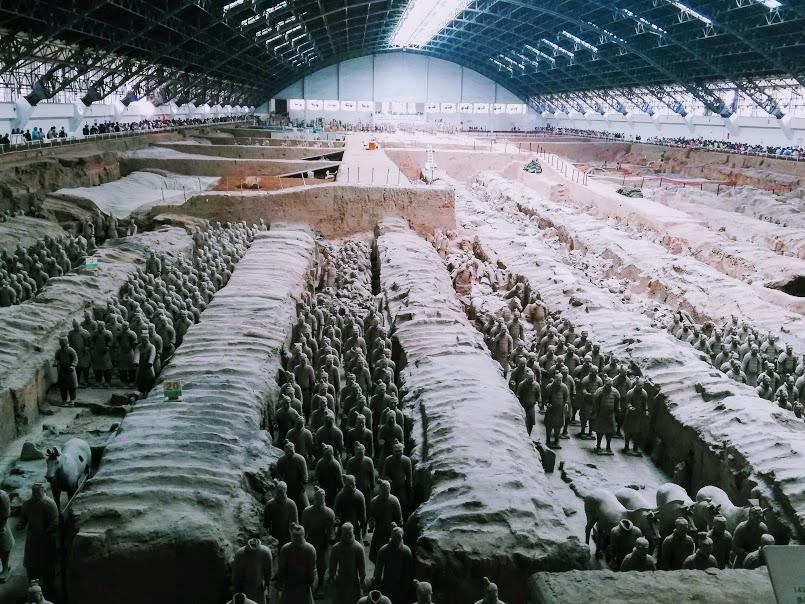 Terracotta Army Xian min
