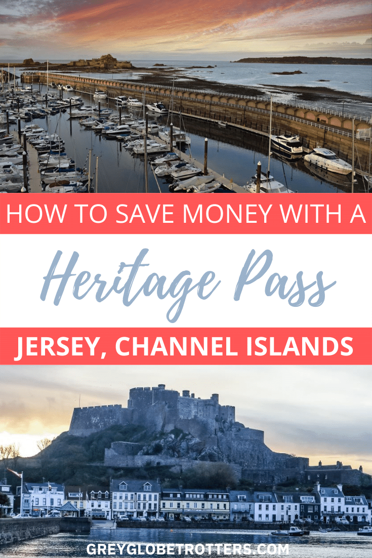 how to save money with a Jersey Heritage Pass